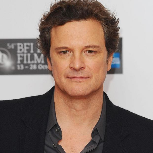 Colin Firth said it was strange to play someone like the king