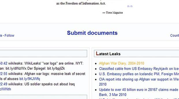 The WikiLeaks website is set to release thousands of intelligence reports compiled after the 2003 invasion of Iraq