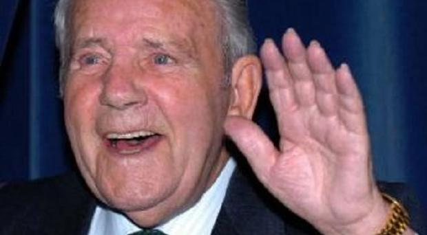 Hundreds of people lined the streets of Douglas to pay their respects to Sir Norman Wisdom