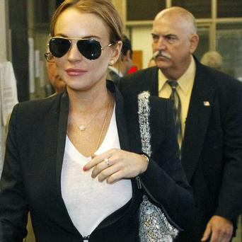 Lindsay Lohan has been sent back to rehab by a judge in the US (AP)