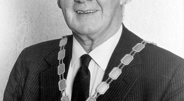 Captain O William (Bill) Henderson. Chairman of Century Newspapers.