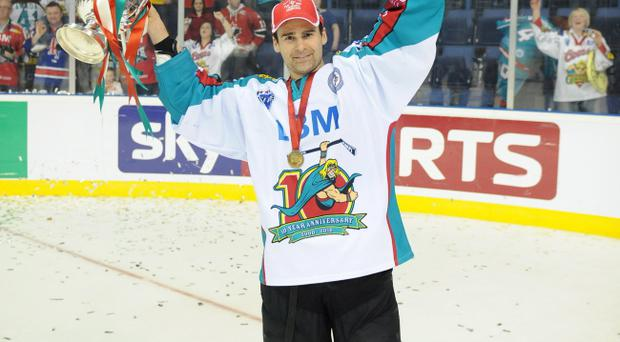 Former captain Shane Johnson will skate to the rescue for the Belfast Giants