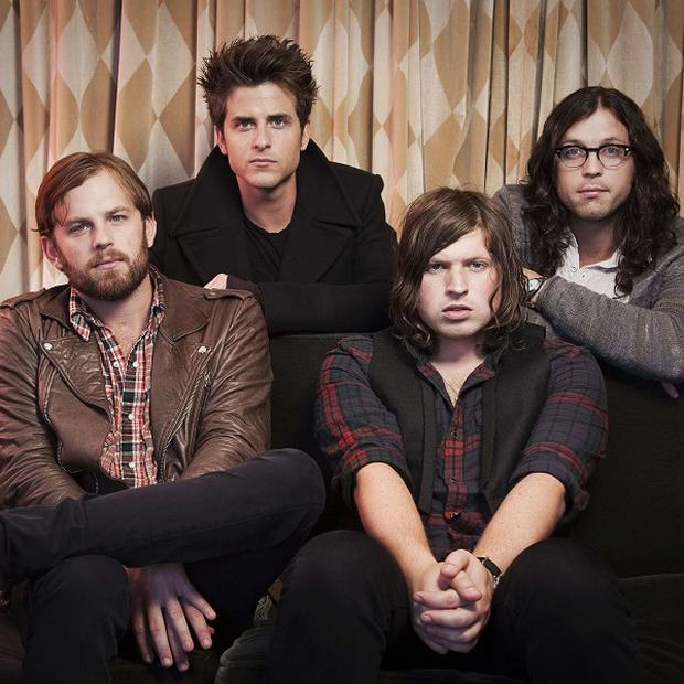 Kings of Leon have topped the album chart with Come Around Sundown