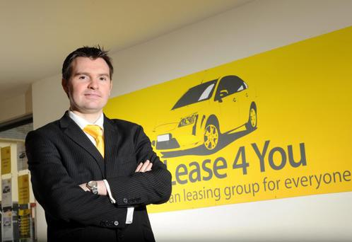 Thursday 25th October 2010Press Eye LtdPhotography by Stephen HamiltonBelfast Telegraph Small Business Can Feature October 2010.Pictured in his office Charlie McCullagh from Car Lease 4 You Londonderry.Charlie McCullaghCar Lease 4 You80 Spencer RoadLondonderry