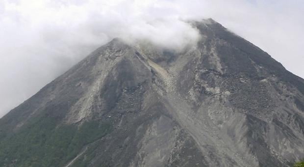 Mount Merapi in Central Java, Indonesia, is spewing volcanic smoke (AP)
