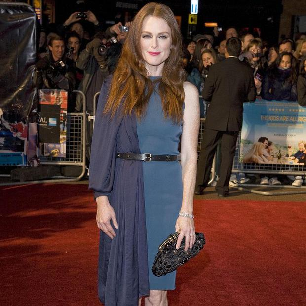 Julianne Moore says she is grateful for the Oscar buzz her latest film has received