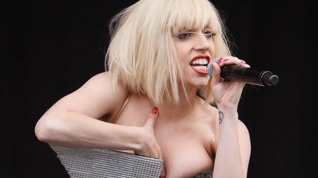 Lady GaGa ive on stage on Oxegen Music Festival