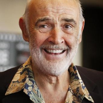 Sir Sean Connery was in the supercar's driving seat