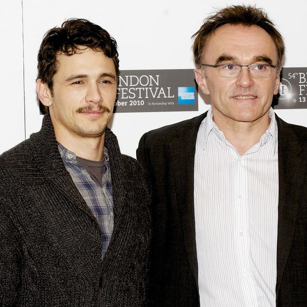 James Franco said Danny Boyle pushed him to the limit during the filming of 127 Hours