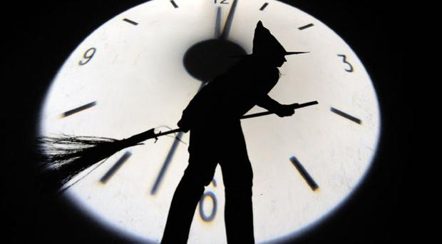 Witching hour this Halloween weekend as the clocks go back an hour. This means an extra hour in bed for the parents and an extra hour trick or treating for the children on Halloween night