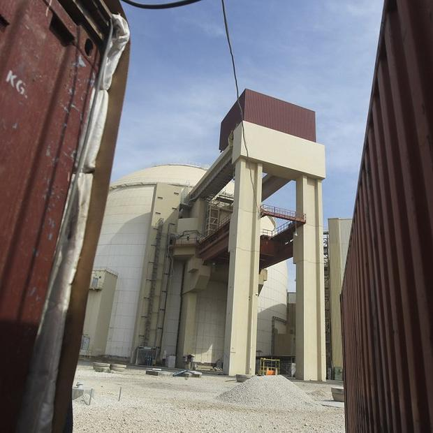 The reactor building of the Bushehr nuclear power plant in Iran (AP)