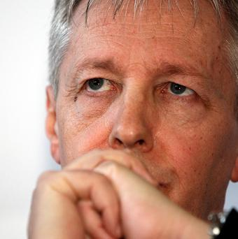 Peter Robinson is due to outline proposals to slash the size of Northern Ireland's government