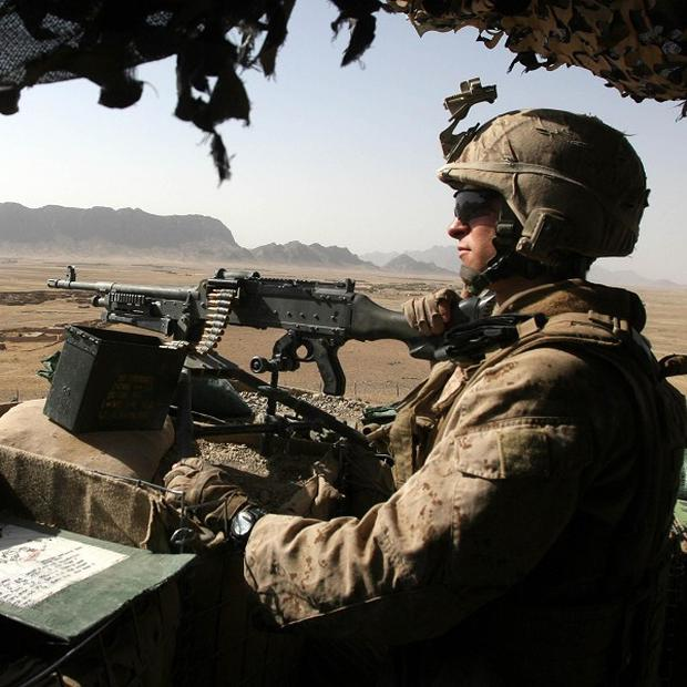 Nato soldiers have killed 17 insurgents in Helmand Province, Afghanistan