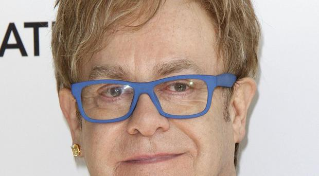 Rock legend Elton John said his days of writing hit songs are over