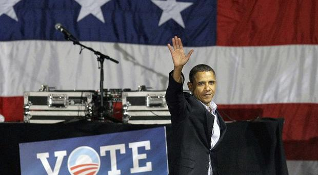 Barack Obama has ended his last-minute campaign blitz ahead of Tuesday's mid-term elections (AP)