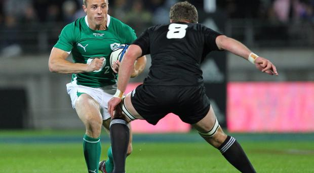 Tommy Bowe is looking forward to a good Autumn International series as Ireland begin their preparations for next year's World Cup
