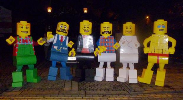 These were costumes my friend made for halloween night in Londonderry, to be honest there the best i have ever seen and the time and dedication taken to make them was nothing short of amazing. Submitted by Kenneth Loane.