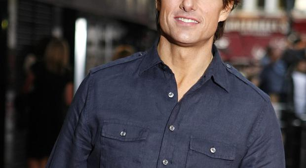 Tom Cruise was spotted near the top of the Burj Khalifa building during filming for the new Mission: Impossible film