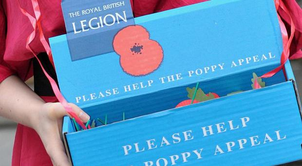 The Royal British Legion has appealed to people making money from official poppies on eBay