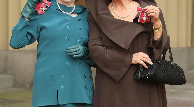 Eileen Derbyshire and Barbara Knox have been made MBEs