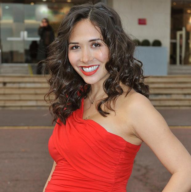 Myleene Klass is keen to know if her baby is a boy or a girl