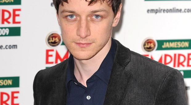 James McAvoy has joined the Arthur Christmas movie