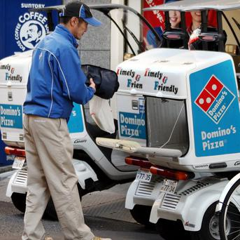Domino's Pizza Japan is offering over 19,000 pounds for one hour's work in December
