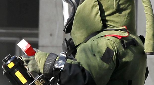 Bomb disposal experts have destroyed a suspicious package in Athens
