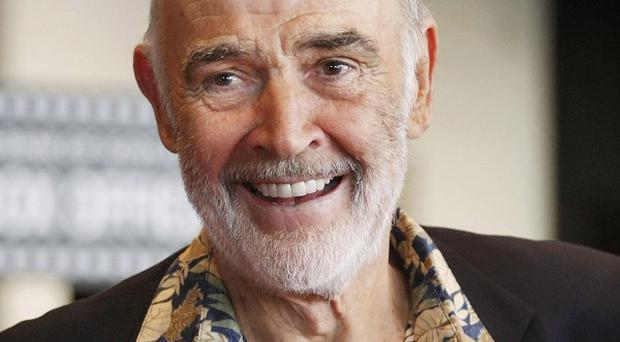 A painting of Sir Sean Connery in a thong could go on public display