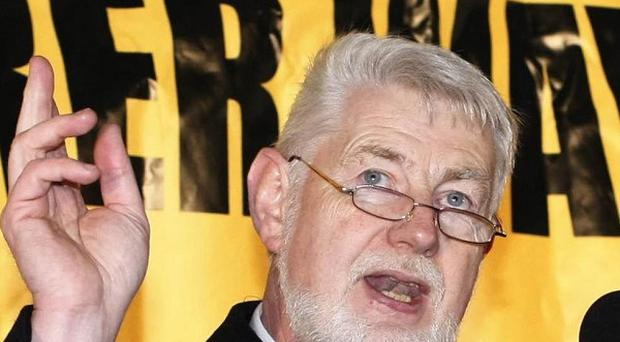 Irish congress of trade unions general secretary David Begg has warned over further austerity measures