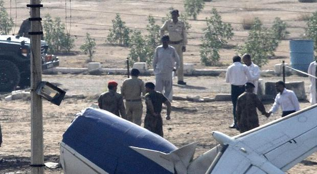 The pilot of a plane which crashed in Pakistan warned of engine trouble before the tragedy