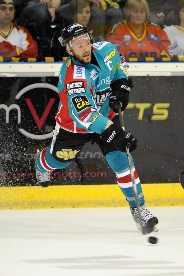 Colin Shields, Belfast Giants. Picture: Michael Cooper