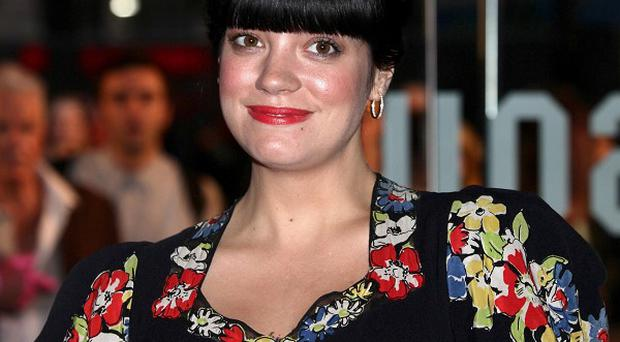 Lily Allen has thanked fans for their support