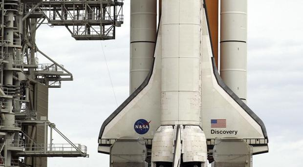 A fuel leak has further delayed the launch of space shuttle Discovery (AP)