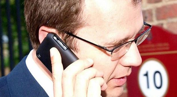 Director of Communications and Planning for the Conservative Party Andy Coulson