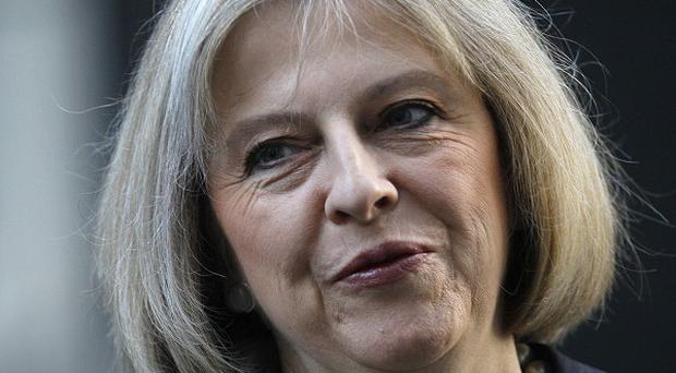 Home Secretary Theresa May presented the award to Northern Ireland's Unite Against Hate campaign
