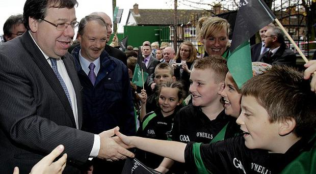 Brian Cowen insisted Ireland was not heading for mass emigration