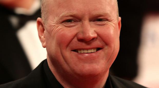 Steve McFadden has been arrested over claims he harassed a woman