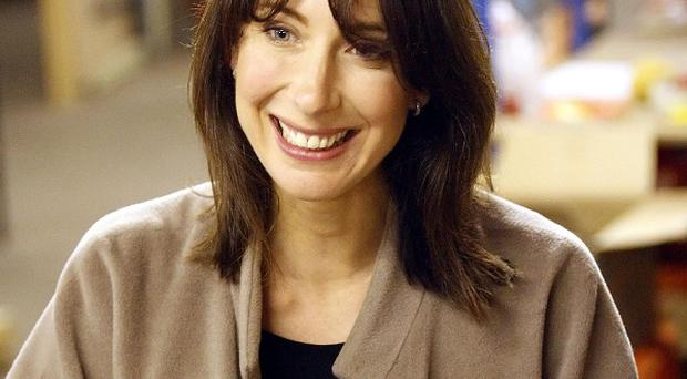 Samantha Cameron hailed the 'incredible' optimism and bravery of injured troops