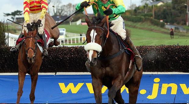 Kauto Star on his way to victory in the JNwine.com Champion Chase at Down Royal