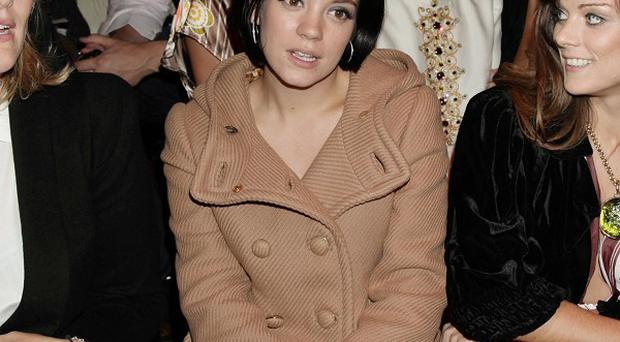 Lily Allen is in hospital being treated for septicaemia