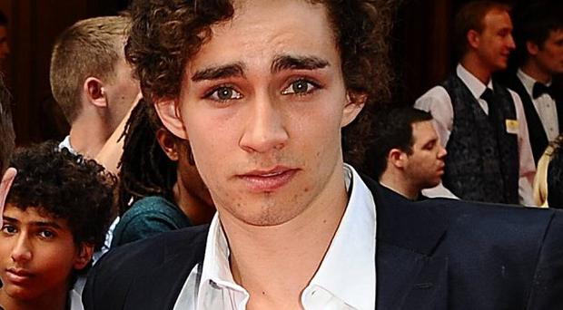 A fan proposed to Misfits star Robert Sheehan