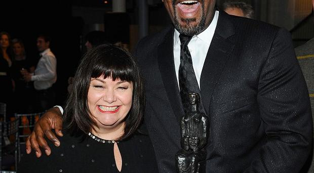 Dawn French and Lenny Henry made a joke of Louis Walsh's X Factor comment