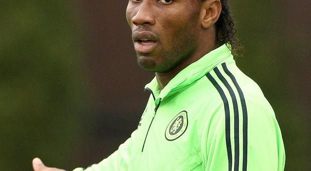Didier Drogba has been diagnosed as suffering from malaria