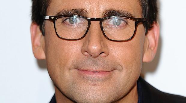 Steve Carell could be set to play a rock star's son