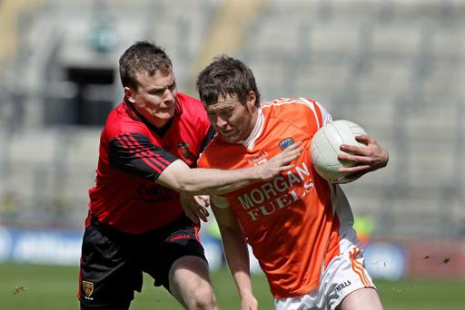 Daniel McCartan (left) admits younger brother Eoin is by far the better player