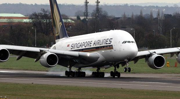 Singapore Airlines grounded three of its Airbus A380 superjumbos after tests uncovered problems with the engines