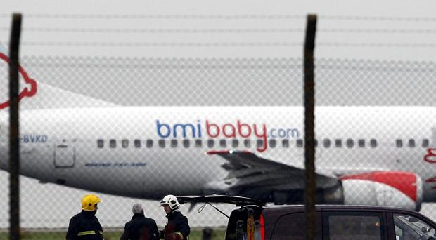 The bomb found on the cargo plane at East Midlands Airport was timed to detonate over the eastern United States