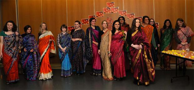 Many local residents took part in the Diwali celebrations held at Queens University Belfast.