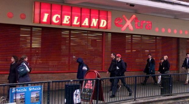 The court was told that police received a report of two windows being smashed by three males in the Iceland Store in Foyleside Shopping Centre